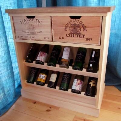 Wine Rack Chest