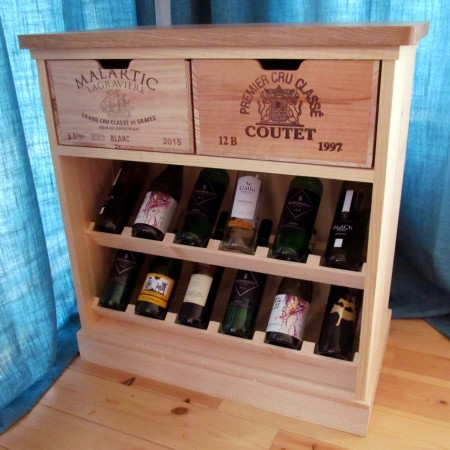 Wine Rack Chest