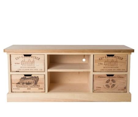 Wine Crate TV Cabinet