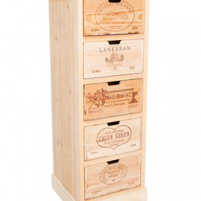 Wine Crate Chest of Drawers