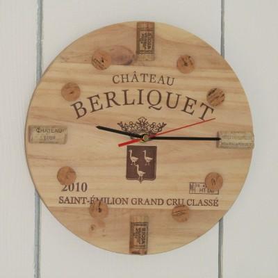 Unique wine clock