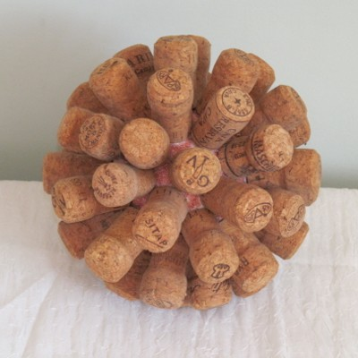 Champagne cork ball