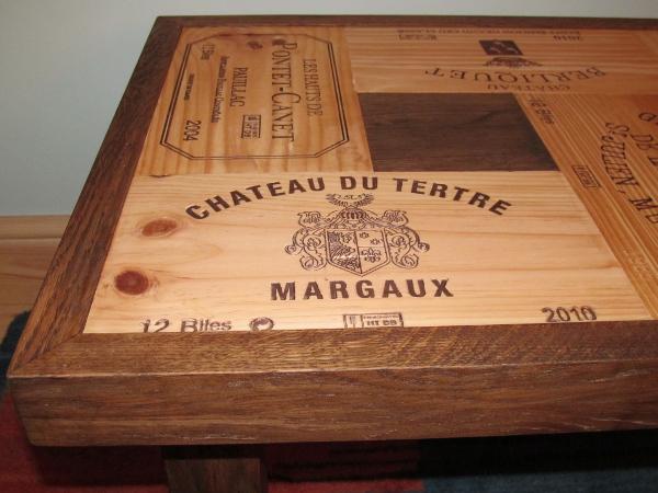 Oak Coffee Table  Bois Rustique